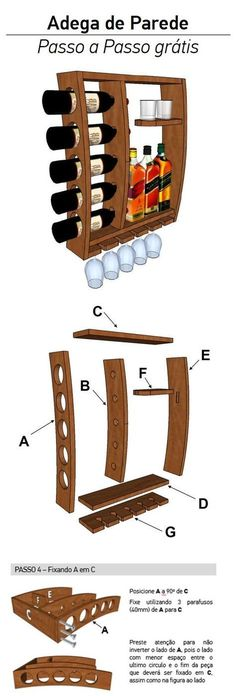 Project Idea in Joinery. Project Idea in Joinery. Free Project it yourself - Pallet Projects, Home Projects, Projects To Try, Woodworking Plans, Woodworking Projects, Woodworking Supplies, Wood Crafts, Diy And Crafts, Diy Wood
