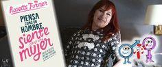 """Rosetta Forner te propone 13 tipologías de hombre en """"Piensa como un hombre, siente como una mujer"""""""