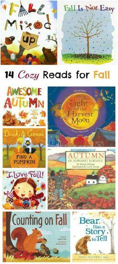 Cozy books for Autumn & Fall | picture books for kids - preschool, kindergarten, elementary