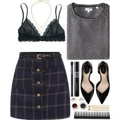 A fashion look from October 2015 featuring Steven Alan sweaters, Madewell bras and Zara pumps. Browse and shop related looks.