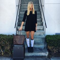 878c76a4b Compression socks are super cute and perfect for travel! Tall Socks