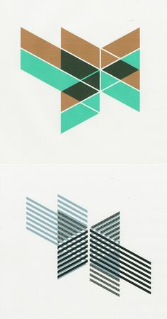 Nice work by designer Jelle Martens. I really love this set of geometric shapes mixed in with some great colors. Graphic Patterns, Print Patterns, Layout Design, Design Art, Design Color, Isometric Shapes, Buch Design, E Online, Poster Design