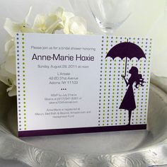 Printable Bridal Shower Invitation Umbrella by EdenWeddingStudio, $20.00