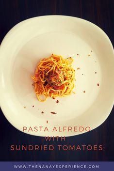 Pasta Alfredo with Sundried Tomatoes