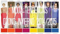 MODA: TENDENCIAS OTOÑO - INVIERNO 2014/2015