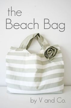 Beach Bag sewing pat