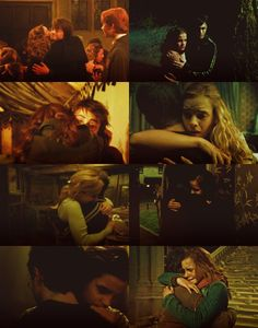 Harry and Hermione = <3. I DON'T CARE WHAT THE BOOKS/JKR SAY!