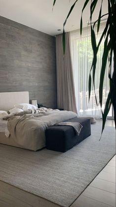 Room Design Bedroom, Modern Bedroom Design, Room Ideas Bedroom, Home Room Design, Dream Home Design, Bedroom Inspo, Home Decor Bedroom, Home Interior Design, Modern Minimalist Bedroom
