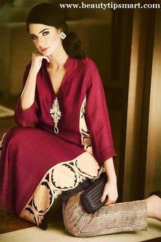 Pakistani Latest Girls Kurta Designs 2014Pakistani