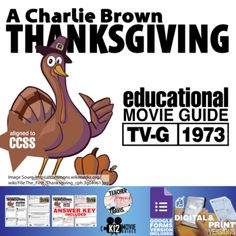A Charlie Brown Thanksgiving Movie Viewing Guide (1973)