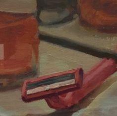 Romania's vibrant new art scene is attracting growing international interest: an overview of Romanian artists today including Marius Bercea, Victor Man, Oana Farcas, Serban Savu Art Articles, Gcse Art, Canvases, Art School, Romania, Young Women, Contents, New Art, Brushes