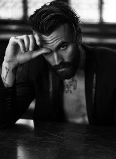 hair and beard, ricki hall Hot Men, Hot Guys, Bart Tattoo, Bart Styles, Sexy Bart, Ricki Hall, A Well Traveled Woman, Mode Man, Beard Love