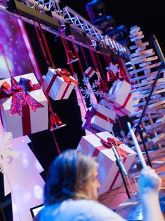 Trees and Boxes from Fairfax Community Church outside Washington D.C. | Church Stage Design Ideas
