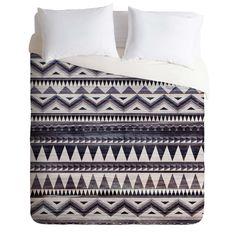 Iveta Abolina Blue Navajo 1 Duvet Cover | DENY Designs Home Accessories