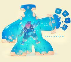 Jellybots - Izak! by nicholaskole on DeviantArt