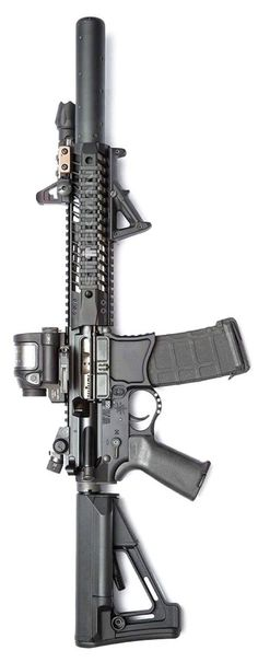 Build Your Sick Custom Assault Rifle Firearm With This Web Interactive Firearm Gun Builder with ALL the Industry Parts - See it yourself before you buy any parts This Took My Money Weapons Guns, Military Weapons, Guns And Ammo, Tactical Rifles, Firearms, Shotguns, Armas Airsoft, M4 Airsoft, M4 Carbine