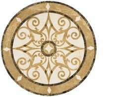 Statements Tile -Stone Medallions more options