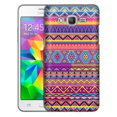Samsung Grand Prime Aztec Colourful Pattern Slim Case