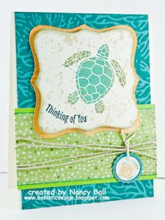 CTMH card by Nancy Ball