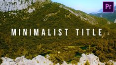 In this video i'm going to show you how to create a clean minimalist title animation in premiere pro. This premiere pro tutorial will show you how to animate. Camera Mic, Best Camera, White Bar, You Videos, Video Editing, Stock Video, Filmmaking, Minimalist, Smooth