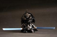 Darth Vader Samurai Custom Munny Designs