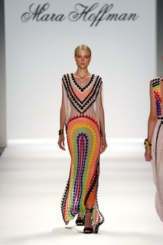 New York Fashion Week Spring 2014.Love the color great dress to wear on a girls day or go shopping. Very easy to wear and comfortable