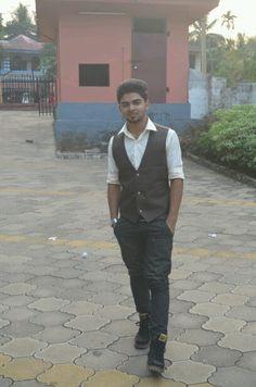 Men in waist coat may add beauty........like these....