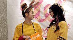 Dahyun and Sana