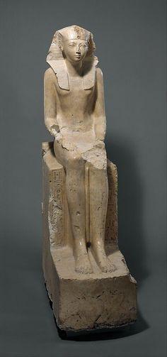 Seated Statue of Hatshepsut, c. 1473-1458b.c., Metropolitan Museum of Art