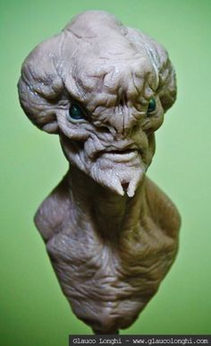 alien inspired by a Jerad S Marantz concept - By Glauco Longhi www.glaucolonghi.com