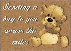 Sending A Hug To You