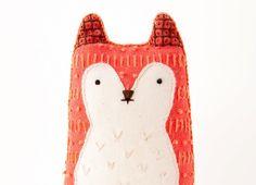 DIY fox by Kiriki Press