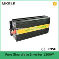 MKP1500-121B 1500 watt inverter 12v to 110v inverter home inverter,power inverter 1500 watt pure sine wave form made in China #Affiliate