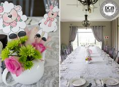 We had the beautiful opportunity to do this magical Little Lamb Baby Shower for a Girl!