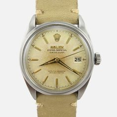 from Where is the Cool? Doubt that I'll ever be the guy that wears a Rolex, but this vintage piece is handsome indeed. . - Click picture for more info...