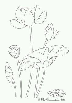 great for sashiko Applique Templates, Applique Patterns, Applique Quilts, Embroidery Applique, Flower Patterns, Embroidery Stitches, Quilt Patterns, Embroidery Designs, Lotus Kunst