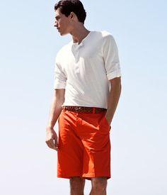 Orange shorts - my wife's favorite ;)