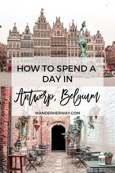 to Do in Antwerp on a Day Trip What to Do in Antwerp, Belgium.What to Do in Antwerp, Belgium. Places To Travel, Travel Destinations, Places To Go, Europe Travel Guide, Travel Guides, Travelling Europe, Traveling, India Travel, Holland