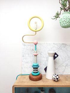 TUTORIAL: DIY Memphis Design lamp