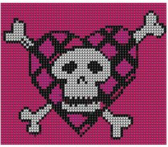 Черепа, черепушки, схемы для вышивки, вязания и просто картинки. Обсуждение на LiveInternet - Российский Сервис Онлайн-Дневников