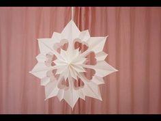 3D Sterne in 5 Minuten selber machen - YouTube