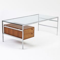 BO 555 desk by Preben Fabricius and Jørgen Kastholm for bo-ex furniture. 1960s - but could be back in our collection soon!