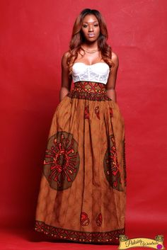 ANKARA MAXI SKIRT WITH POCKETSAVAILABLE IN SIZE SMALL TO XXLCUSTOM ORDER ALSO AVAILABLE PLEASE SEND EMAILS FOR ENQUIRIES