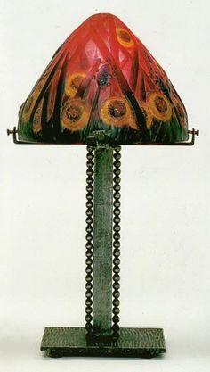 Gabriel Argy-Rousseau Patê de verre Table Lamp