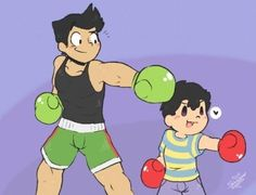 Little Mac and ness