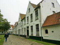 Brujas-Brugge: Casitas del Begijnhof