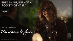 "Caitlin Gerard in ""Vanessa & Jan.""    #watchwigs www.youtube.com/wigs"
