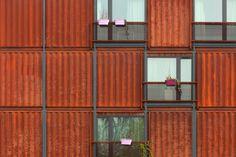 Alloggi x Studenti - recupero container -  Frankie & Johnny Student Housing Plänterwald