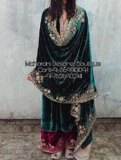 Punjabi Suits With Palazzo Pakistani Formal Dresses, Pakistani Dress Design, Pakistani Outfits, Pakistani Clothing, Velvet Suit Design, Velvet Dress Designs, Velvet Kurtis Design, Designer Party Wear Dresses, Kurti Designs Party Wear