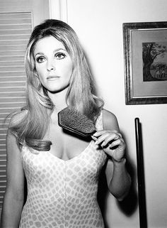 Sharon Tate on the set of Valley of the Dolls (1967)